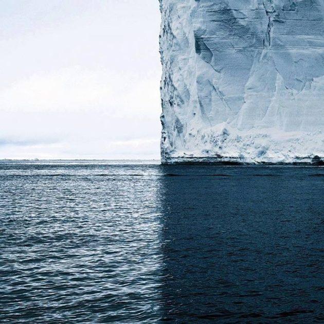 #3 - Divisão perfeita da sombra do iceberg transformando a imagem em 4 partes.