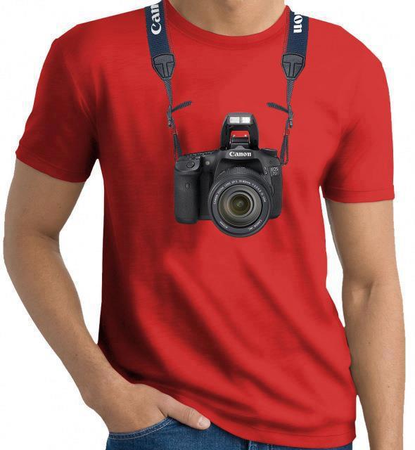 #7 - Camiseta especial de fotógrafo.