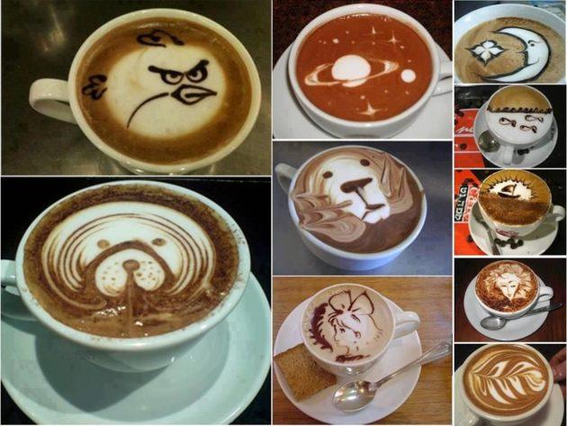 #18 - Criando arte com café.