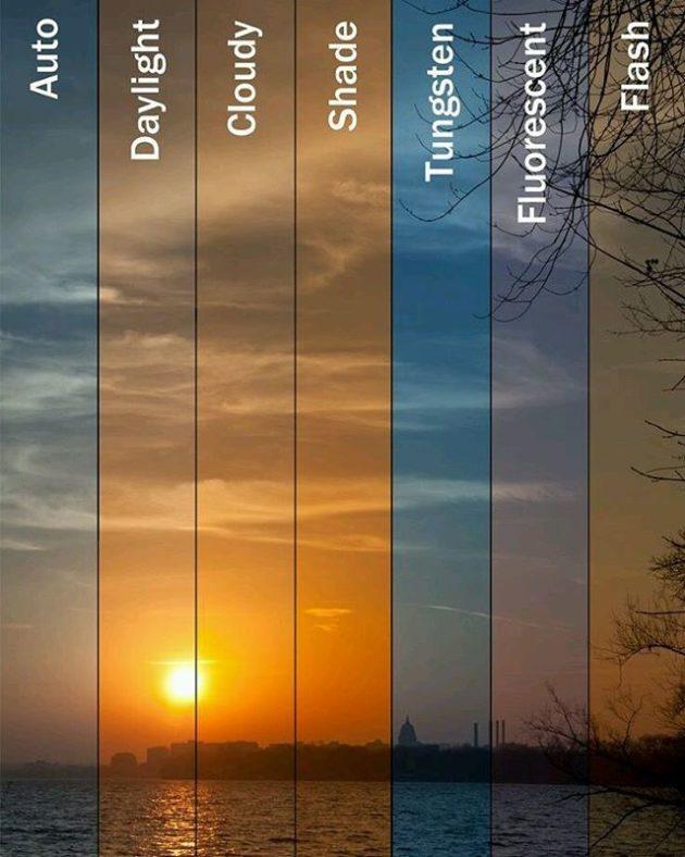 #9 - Diferentes modos de uma câmera.