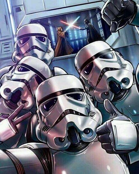 #11 - Selfie Stormtrooper