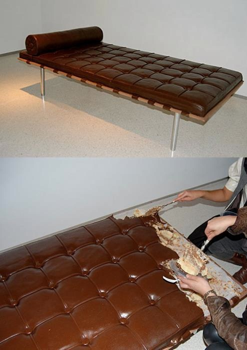 #19 - Já imaginou um bolo de sofá? oO