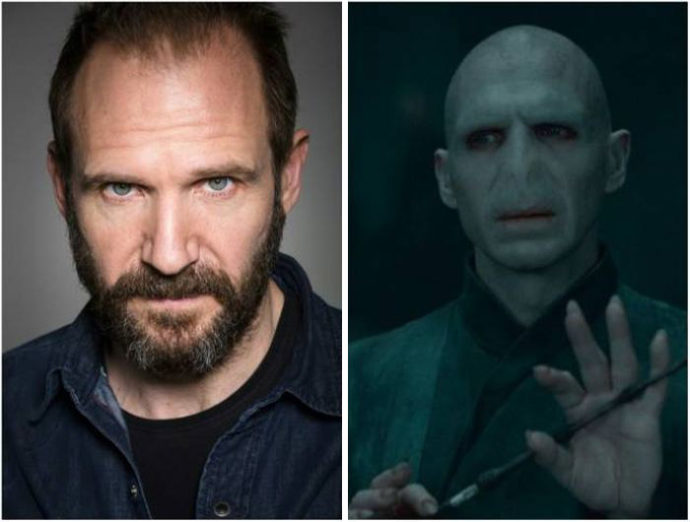 Ralph Fiennes - Lord Voldemort - Harry Potter.