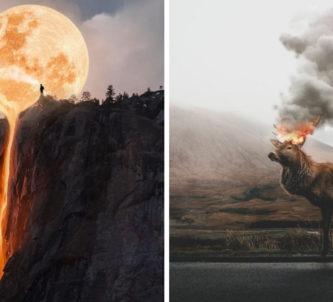 Esse rapaz turco de 19 anos transforma seus sonhos em fotos