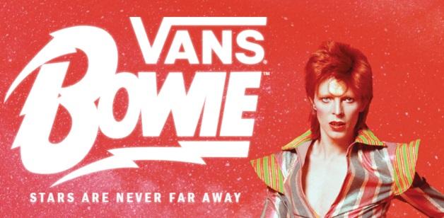 ed254a0320d Vans está homenageando David Bowie e lançou quatro super modelos de ...