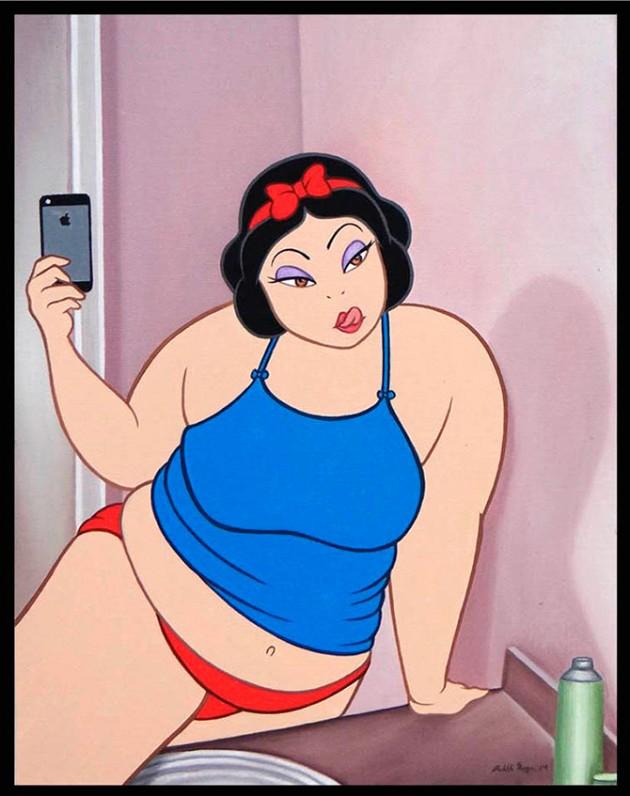 Artista Desenha Personagens Da Disney Em Situacoes Profanas