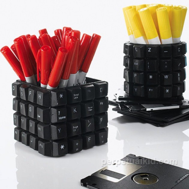 Lindos e criativos objetos reciclados para decorar a sua casa - Objetos de reciclaje ...
