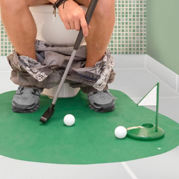 6 Jogo de Golf de Banheiro - Rei do Golf