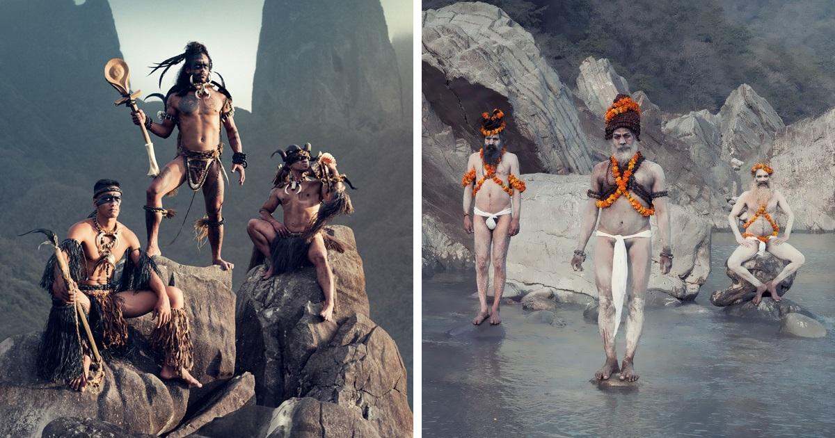 Resultado de imagem para Fotógrafo viaja ao redor do mundo registrando tribos isoladas