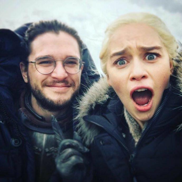 Emilia Clarke revela ter encerrado as gravações de Game of