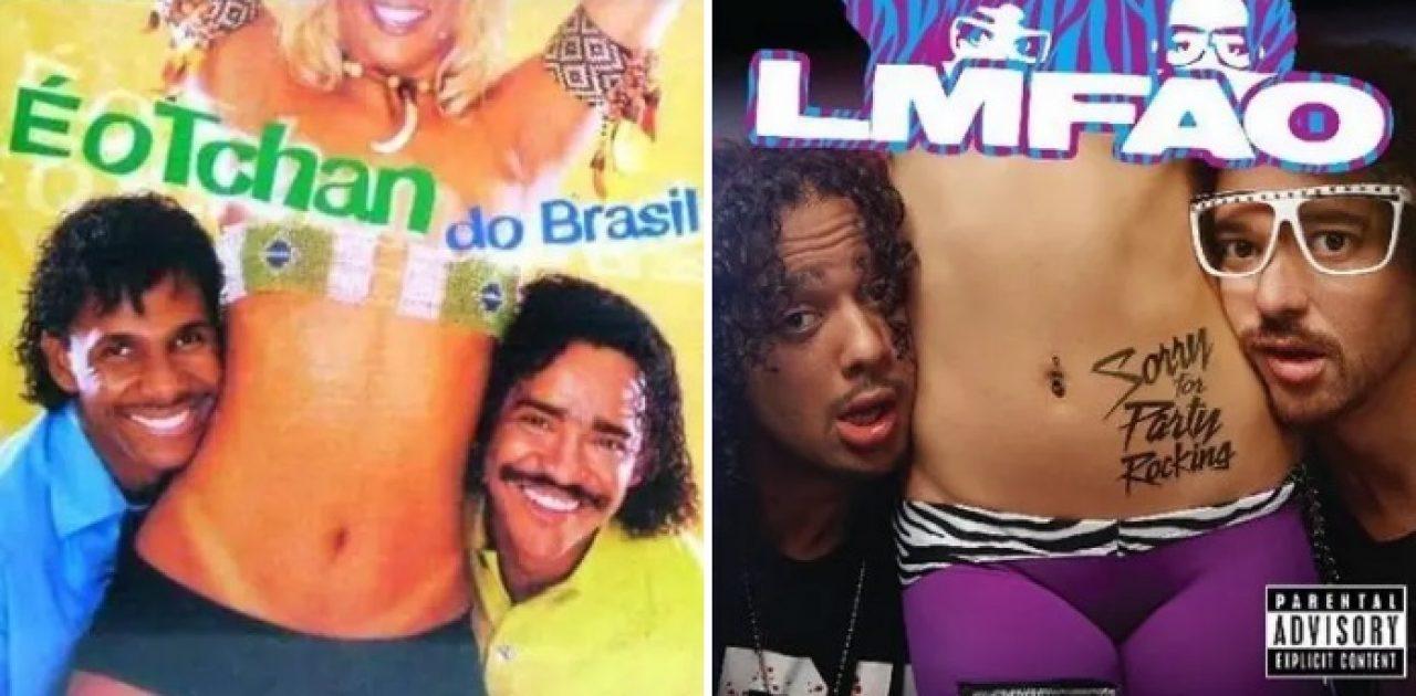 gringos imitam os brasileiros capa