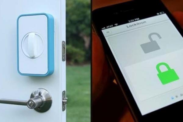 #3 - Trave e destrave suas portas utilizando o smartphone com o app Lockitron