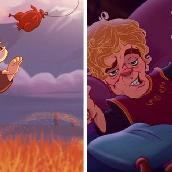 Game of Thrones da Disney capa