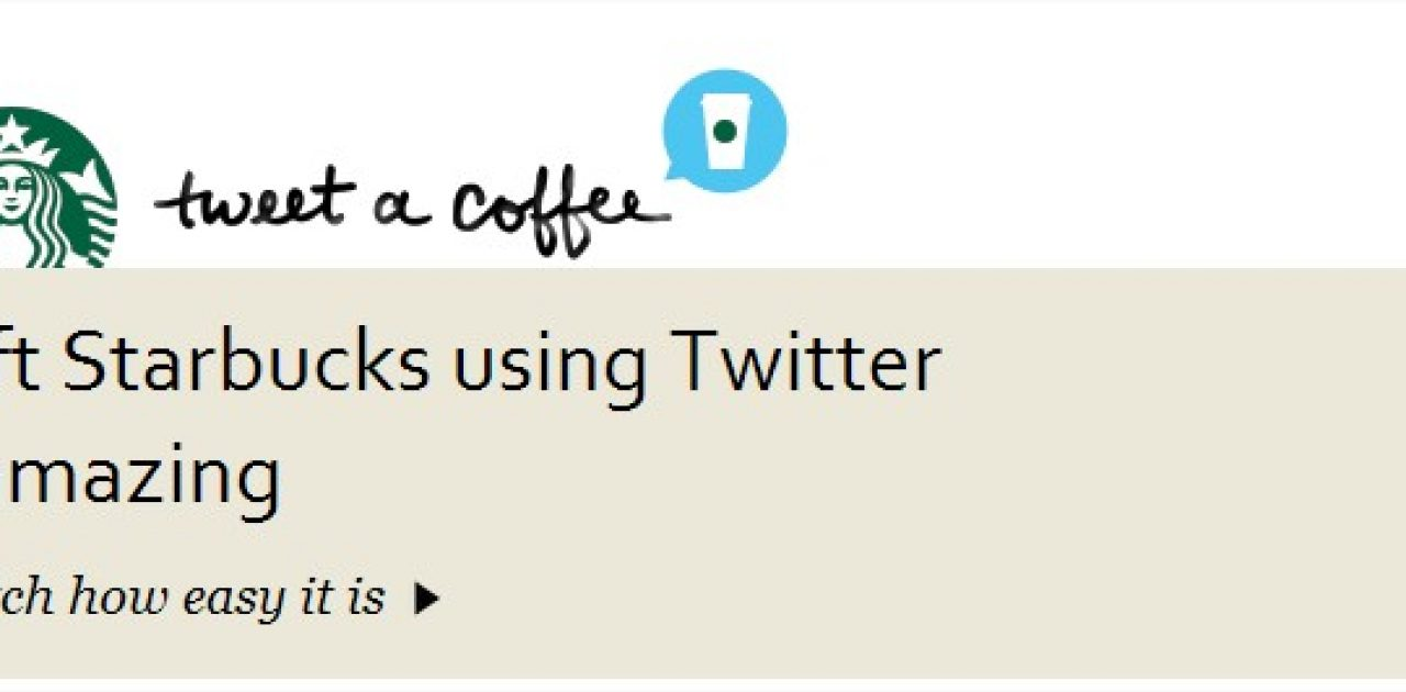 Tweet A Coffee  Starbucks Coffee Company - Google Chrome