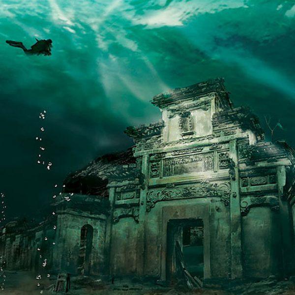 #16 - Cidade Subaquática em Shicheng, China