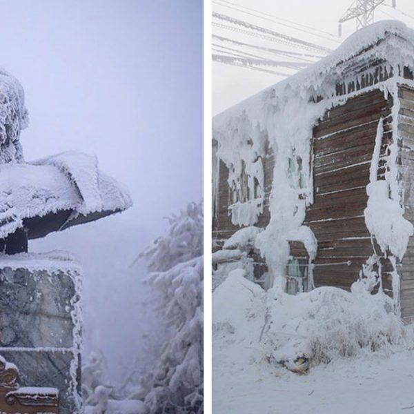 aldeia congelante capa
