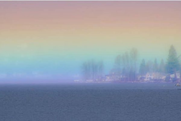 arco íris horizontal capa