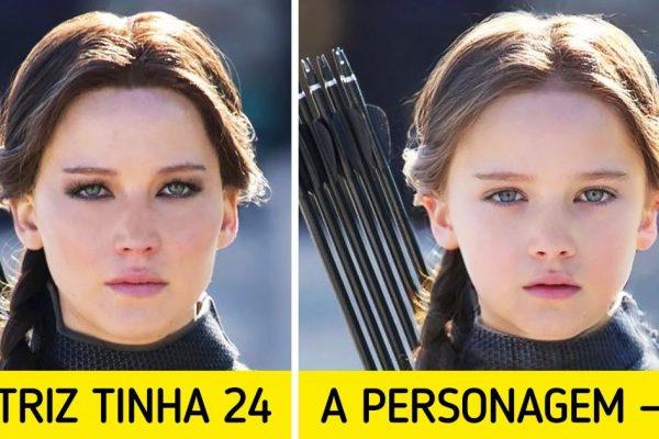 atores e personagens capa