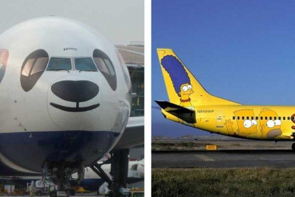 aviões diferentes capa