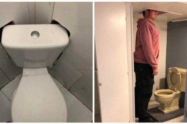 banheiros horríveis capa