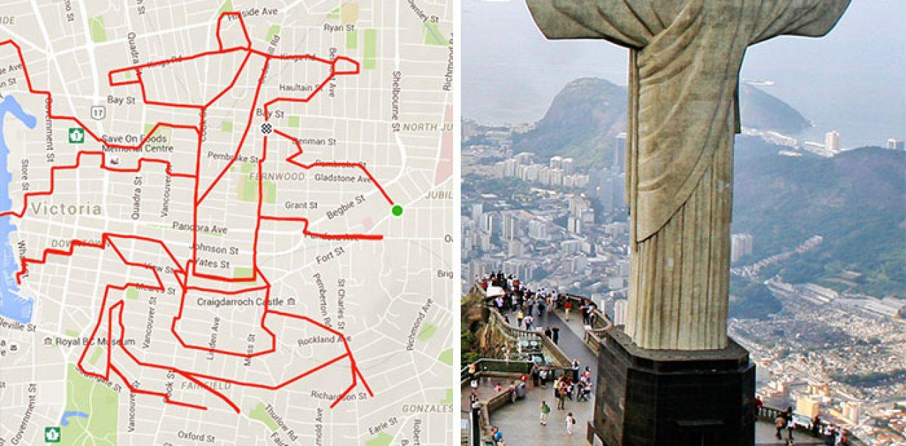 Cristo Redentor (25.8 km, 1 h 20 min)