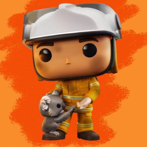 bombeiro australiano capa