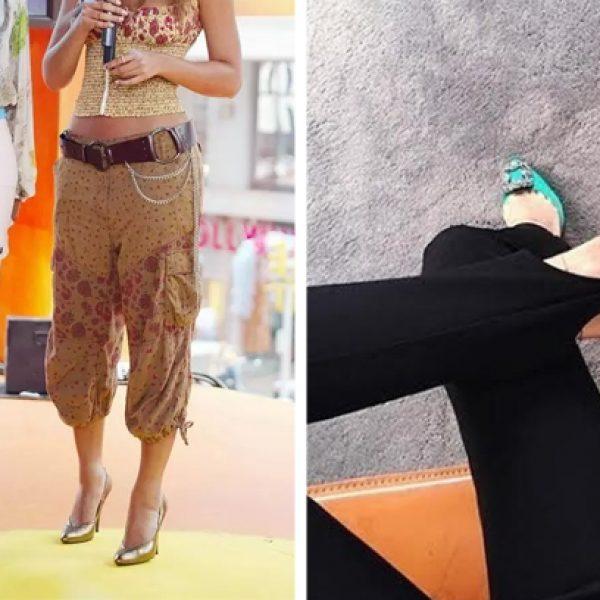 calças estilosas capa