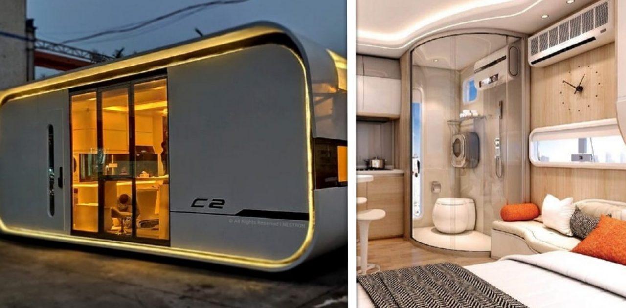 casa futurística capa