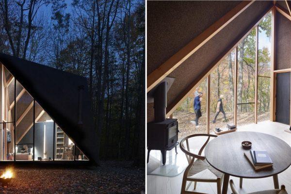 casa na floresta capa