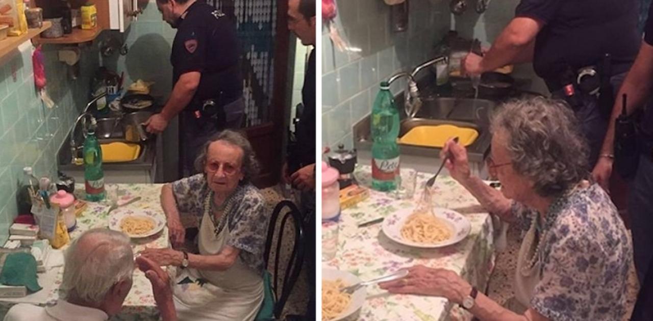 Policiais cozinham para casal de idosos que estavam chorando ...