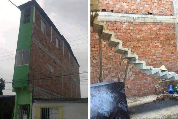 construções horríveis capa