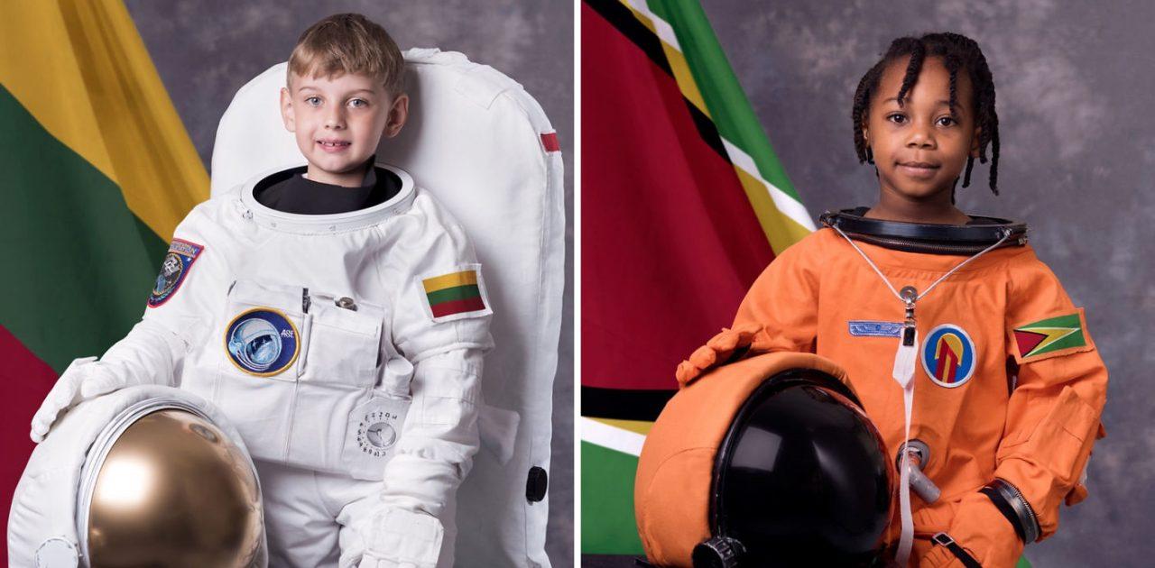 criança astronauta capa