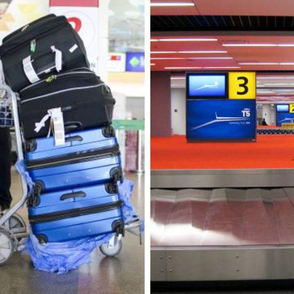 despachar bagagem capa