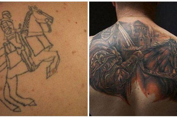 encobrimento de tattoos capa