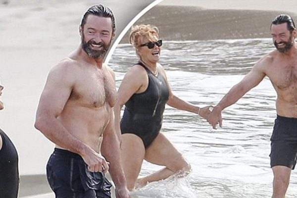 Exclusive... 52020356 'Wolverine' actor Hugh Jackman enjoys a day on the beach while on vacation in St. Barth, France with his wife Deborra-Lee Furness on April 11, 2016. The happy couple are currently celebrating their 20th wedding anniversary! Jackman, who has been diagnosed with skin cancer several times in the last couple of years, didn't seem to mind catching some rays in the ocean with his wife.  ***NO WEB USE W/O PRIOR AGREEMENT - CALL FOR PRICING*** 'Wolverine' actor Hugh Jackman enjoys a day on the beach while on vacation in St. Barth, France with his wife Deborra-Lee Furness on April 11, 2016. The happy couple are currently celebrating their 20th wedding anniversary! Jackman, who has been diagnosed with skin cancer several times in the last couple of years, didn't seem to mind catching some rays in the ocean with his wife.  ***NO WEB USE W/O PRIOR AGREEMENT - CALL FOR PRICING*** FameFlynet, Inc - Beverly Hills, CA, USA - +1 (310) 505-9876 RESTRICTIONS APPLY: USA/UNITED KINGDOM/AUSTRALIA ONLY