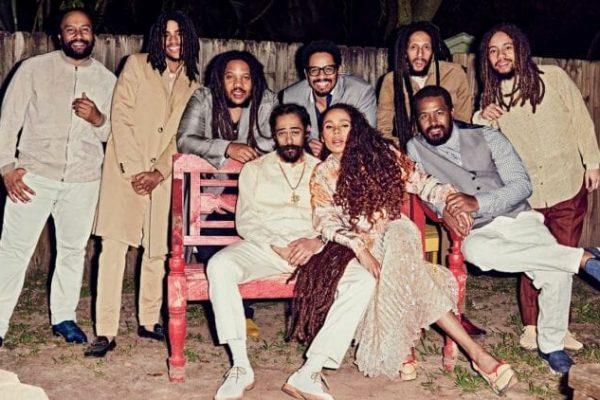 família Bob Marley 01