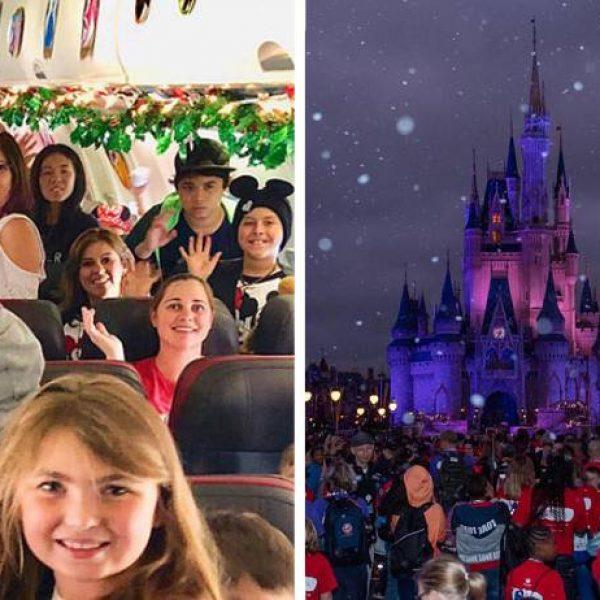filhos na Disney capa