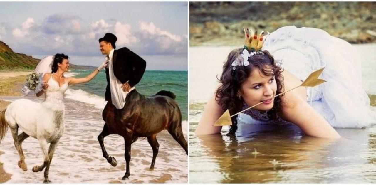 fotos bizarras de casamento capa