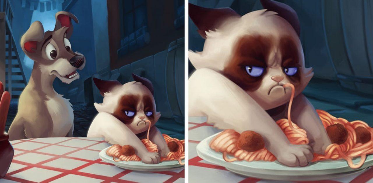 grumpy cat capa