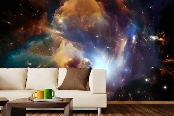Mural galáctico. Muito lindo!