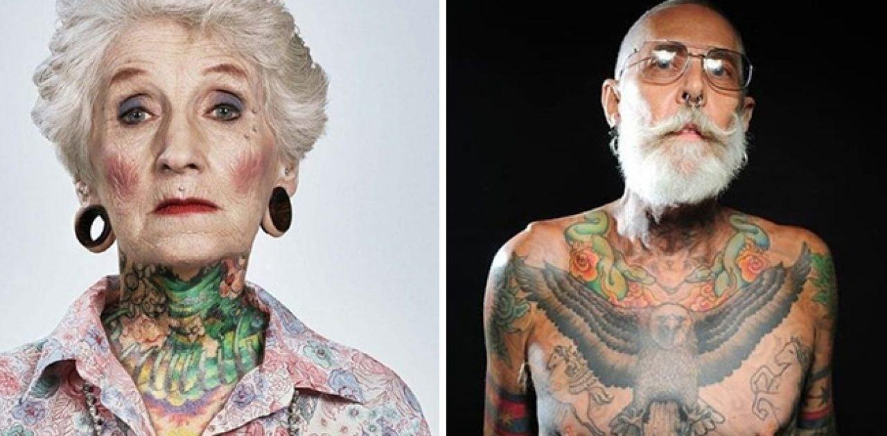 idosos tatuados capa