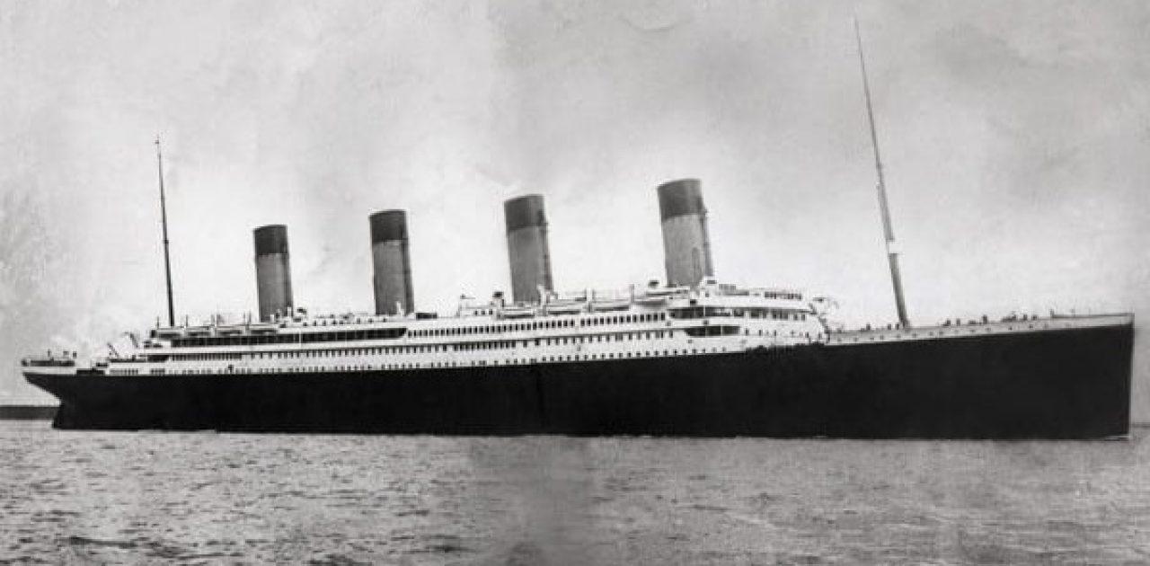imagens raras Titanic capa