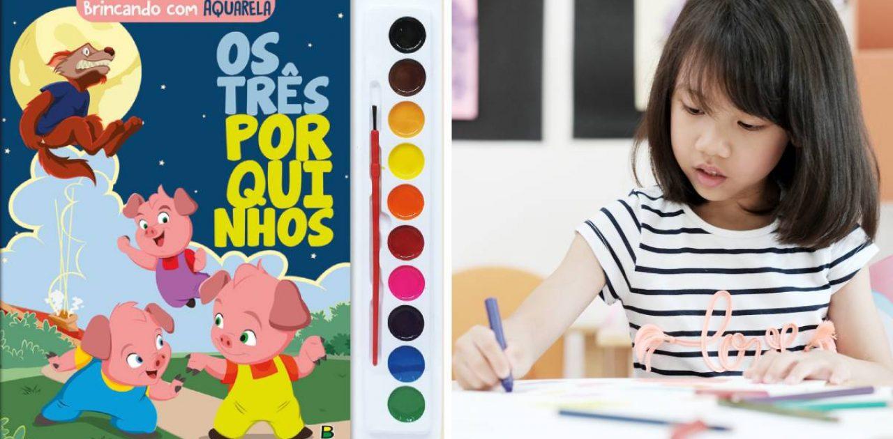 livros para colorir capa