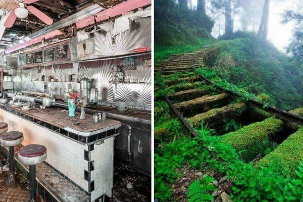 lugares abandonados capa