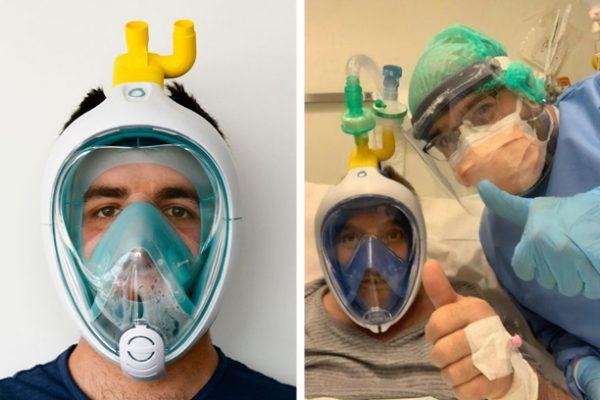 máscara de proteção capa