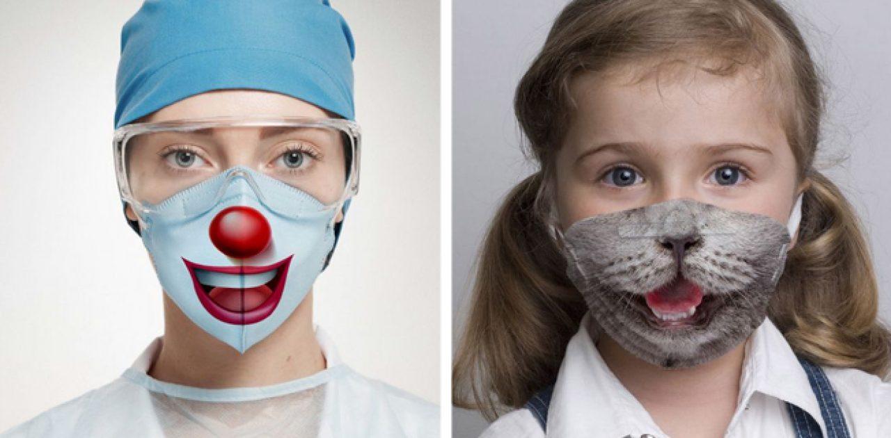 máscaras estampadas capa