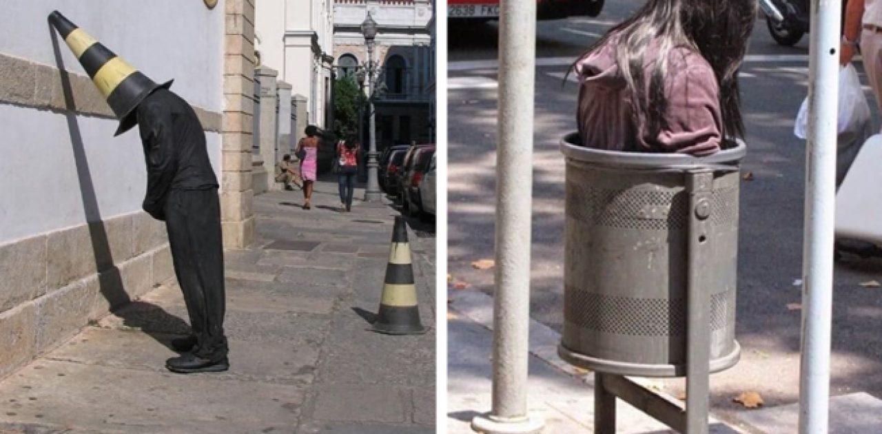 manequins de rua capa
