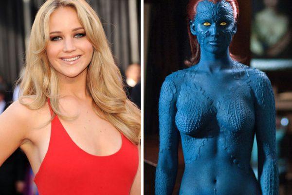 Jennifer Lawrence - Mística - X-Men.