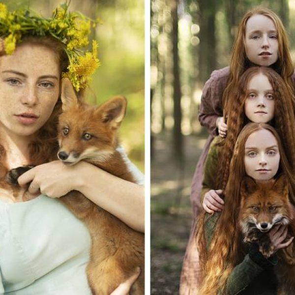 meninas e raposas capa
