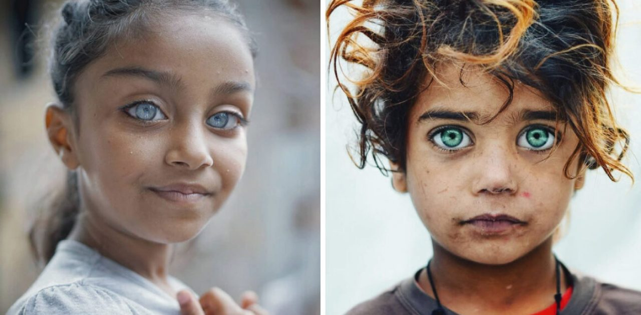 olhos de crianças capa